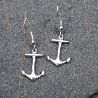 Anchor earrings E76